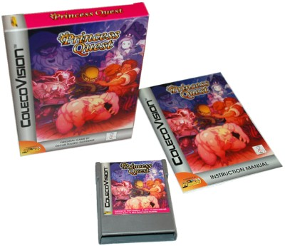 Princess Quest: Team Pixelboy box for Colecovision